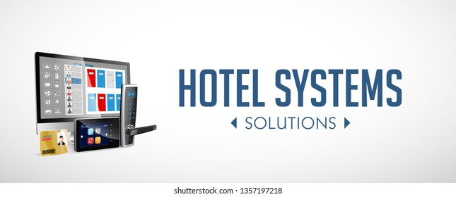 Access control and management system for hotels and hospitals - website banner