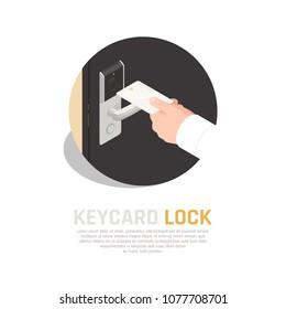 전자도어락 스톡 벡터 이미지 및 벡터 아트 Shutterstock