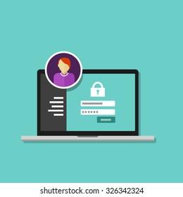 access management authorize software authentication login form password system security
