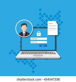access management authorize software authentication login form system