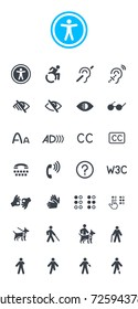 Accessibility Icons