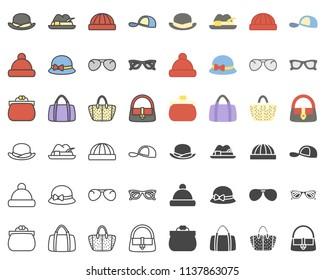 Accessoires colored icon