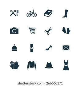 accessories Icons Vector set