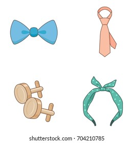 Accessories vector icons