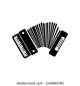 accordion icon vector icon. Simple element illustration. accordion symbol design. Can be used for web and mobile.