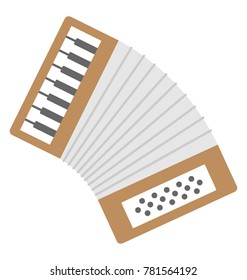 Accordion Vector Icon