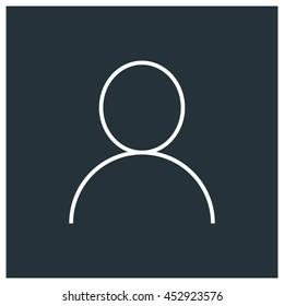 Account icon, Vector