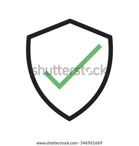 Account User Verified Icon Vector Image Stock Vector Royalty Free