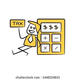 Imágenes, fotos de stock y vectores sobre Tax Figure
