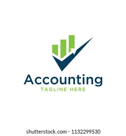 accounting design logo template
