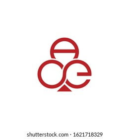 ace card logo vector template