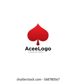 Ace Creative Concept Logo Design Template