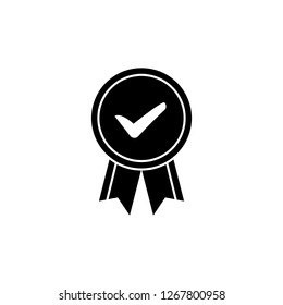 Achievement, approved, award, badge, best quality, favourite, medal, seo, trophy, win icon. Editable vector 64x64 Pixel.