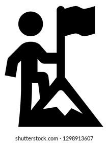 Achievement Success Vector Icon