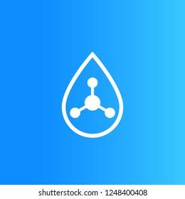 Acid drop icon