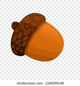 Acorn icon. Cartoon of acorn vector icon for web design