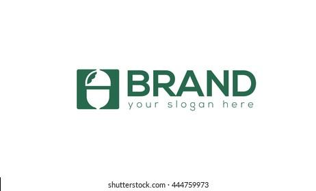 Acorn vector logo template. Acorn Logo. Silhouette Acorn. Template Logo Company.