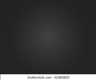 acoustic speaker grille texture background vector illustration