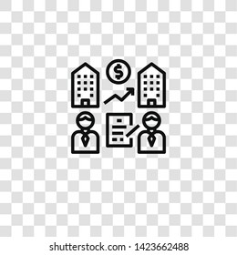 acquire icon from CUSTOMER ENGAGEMENT collection for mobile concept and web apps icon. Transparent outline, thin line acquire icon for website design and mobile, app development