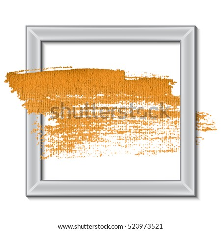 Acrylic Paint Stroke Best Modern Design Stock Vector Royalty Free