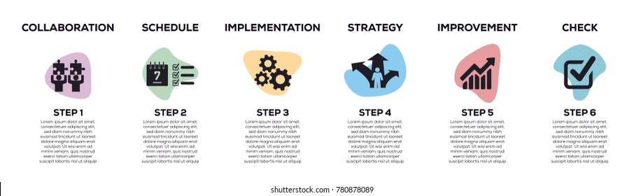 Action Plan Infographic Design