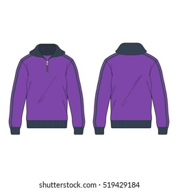 Active Track Sport Jacket Template