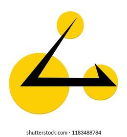 ACUTE ANGLE CLOUD ( AAC ) Logo Vector Icon