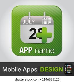 add event - calendar with add sign icon, add date to calendar, calendar symbol