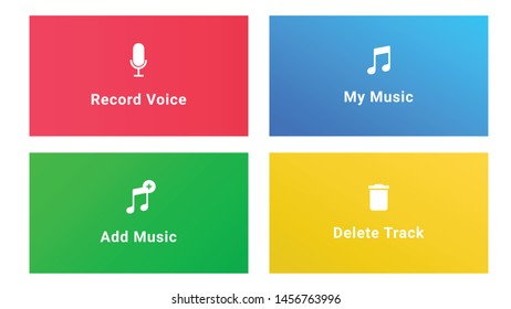 Add music app and web icons