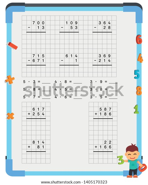graphic regarding Adding and Subtracting Fractions Game Printable known as Incorporating Subtracting Fractions Mathematical Worksheet Fixed