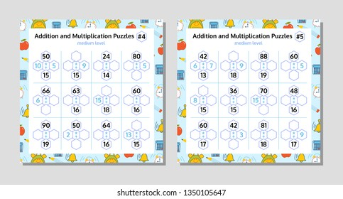 Math Puzzle Images, Stock Photos & Vectors | Shutterstock