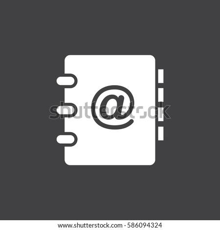 address book icon のベクター画像素材 ロイヤリティフリー