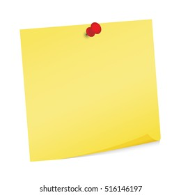 Adhesive note post it vector isolated