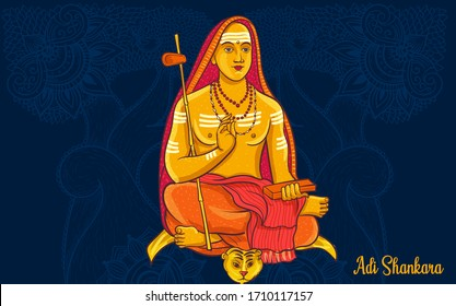 Adi Shankaracharya was an early 8th century Indian philosopher and theologian who consolidated the doctrine of Advaita Vedanta.