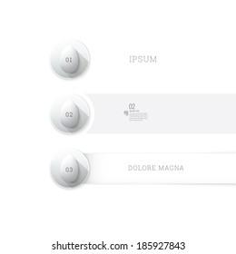 Adjustable vector design. Egg illustrations in a minimalist geometric flat - long shadow style list.