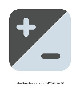 adjustment icon. flat illustration of adjustment vector icon for web
