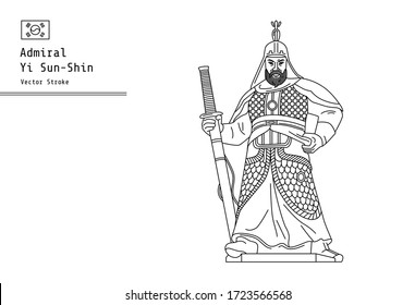 Admiral Yi Sun-Shin was a Korean admiral and military general famed for his victories against the Japanese navy during the Imjin war in the Joseon Dynasty.