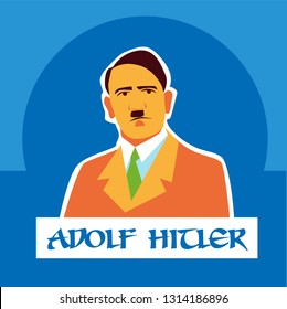 Adolf Hitler was a German politician and leader of the Nazi Party.