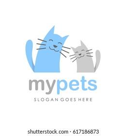 Adorable cat/ kitten vector
