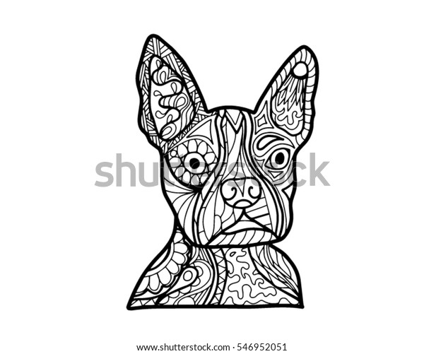 Boston Terrier coloring pages - Search Yahoo Image Search Results ... | 501x600