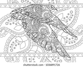 Wolf Picture From Coloring Book The Magic Path Coloring T