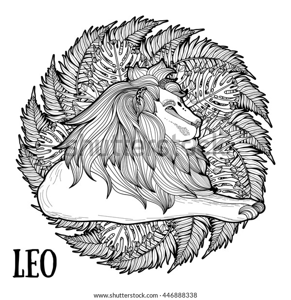 Adult Coloring Page Antistress Art Therapy | Animals ...