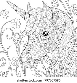 Adult Coloring Pages Images, Stock Photos & Vectors ...