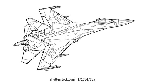 - Airplane Coloring Pages Images, Stock Photos & Vectors Shutterstock