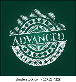 Advanced chalk emblem