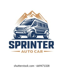 adventure car logo template