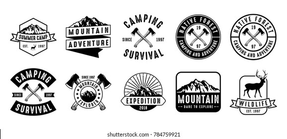 Adventure Logo and Badge Bundle
