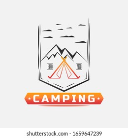 Adventure logo template for business or company. Holidays.