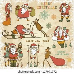 Adventures of Drunk Santa Claus
