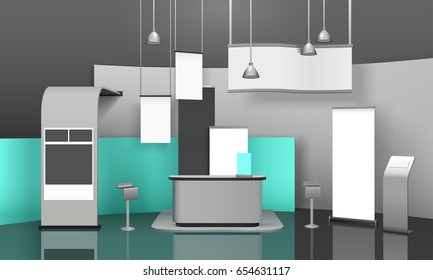 Exhibition Stand 3d Model : Similar images stock photos & vectors of advertising exhibition